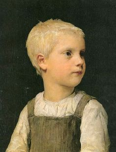 Portrait of a Boy, Albert Anker