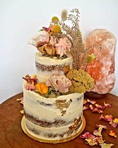 I really do love little elopement cakes. They're just darn cute! Boho Wedding, Destination Wedding, Bohemian Bride, Buttercream Cake, Cake Art, Bespoke, Wedding Styles, Cake Decorating, Wedding Cakes