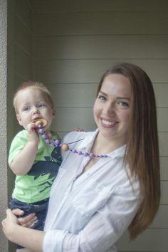 Nursing in Public and Nursing Necklaces || Part of a 10 Week Breastfeeding Series