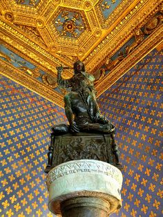Inside the Palazzo Vecchio - Florence, Italy