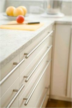 Modern stainless steel Cabinet hardware & Kitchen Updates for Any Budget | HGTV Clever Solutions | Pinterest ...