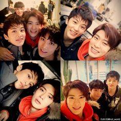 [RookiesEntertainmentApp] #NCT #smrookies #Donghyuck #Mark #Jaehyun #Ten