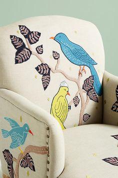 Treescape Dorrance Chair, Birds | Anthropologie
