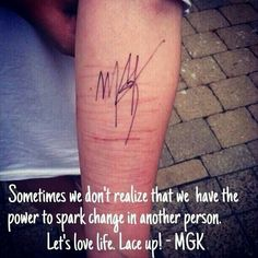 Wow! This makes my heart ache ! One Love Kells! It isnt a normal thing cutting yourself! but sometimes its the only thing that takes the pain away but with one speaker of our generation and (other generations) we can get threw this & stay alive! I feel you's all!! EST!! 19❎❎!