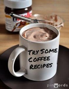 Coffee Recipes / Coffee Shop Stuff