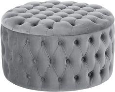 XL Samt-Hocker Chiara mit Stauraum | WestwingNow Flat Ideas, Kare Design, Living Styles, My New Room, Ottoman, Bedroom Decor, Interior Design, Chair, Decorating Rooms