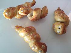 Zopfschlangen   Backen mit Bakeria.ch Kids Meals, Baked Potato, Shrimp, Food And Drink, Potatoes, Meat, Baking, Vegetables, Ethnic Recipes