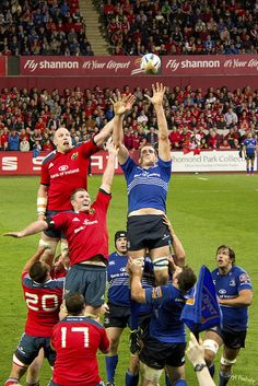 Lineout Jump Rugby League, Rugby Players, Munster Rugby, Irish Rugby, Sports, Soccer, Hs Sports, Sport