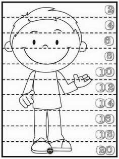 282 En Iyi Sayma Sayılar Görüntüsü Kids Math Kindergarten Ve