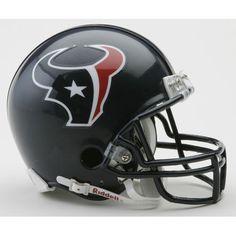 Houston Texans Miniature Replica NFL Helmet w/Z2B Mask