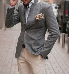 Grey and beige #Elegance #Fashion #Menfashion #Menstyle #Luxury #Dapper #Class #Sartorial #Style #Lookcool #Trendy #Bespoke #Dandy #Classy #Awesome #Amazing #Tailoring #Stylishmen #Gentlemanstyle #Gent #Outfit #TimelessElegance #Charming #Apparel #Clothing #Elegant #Instafashion