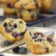 Our Favorite Blueberry Muffins:- you can't go wrong with this classic berry recipe.