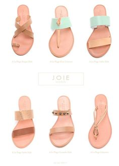 Oh So Pretty: Style // Joie Sandals