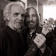 J.J. Cale & Tom, 2009. Photo by Roman Cho. #RIPJJCale, on Instagram