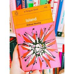One of my favourite books & book covers of all times! @penguinukbooks First Edition 1964 cover design by Lacey Everett #aldoushuxley #island #laceyeverett #penguinstagram #igreads