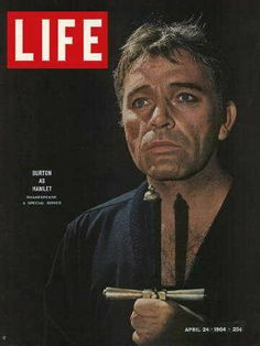 "Richard Burton ~ Life Magazine ~ April 24, 1964 issue ~ Click image or visit oldlifemagazines.com to purchase. Enter ""pinterest"" at checkout for a 12% discount."