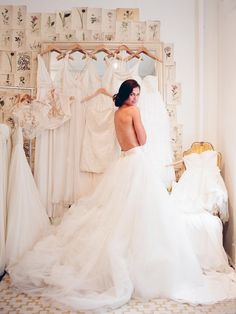 "I want a picture like this with all the gowns I try on while I'm wearing ""the dress"""