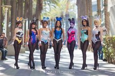 Mineralblu Photography Concepts/Corsets by Castle Corsetry Tracer - Sheena Duquette D.Va - Elizabeth Rage... Mei - Rian Synnth Cosplay Pharah - Milynn Sarley Widowmaker - Maid of Might Cosplay Symmetra - Alicia Marie Live Mercy - Reagan Kathryn #overwatch #playboy #bunnywatch #bunnies <3