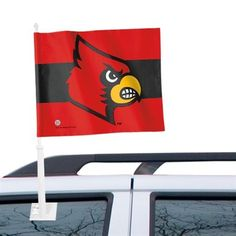 Louisville Cardinals WinCraft 12'' x 15'' Double-Sided Car Flag
