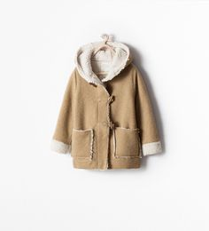 Image 1 of DOUBLE SIDED COAT WITH TOGGLES from Zara