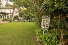 The Back Yard @ Wilcox Manor Backyard, Patio, Old Town, Arch, Outdoor Structures, Garden, Old City, Longbow, Garten
