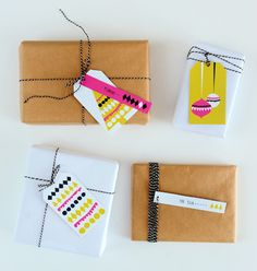 Diy gift wrapping ideas diy free printable gift tags by heylook. Christmas Gift Tags, Christmas Wrapping, Christmas Crafts, Christmas Ideas, Xmas, Free Printables Christmas, Envelopes, Creative Gift Wrapping, Wrapping Ideas