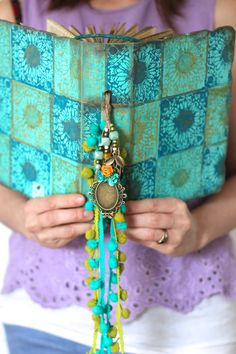 Boho gypsy wedding guest bookphoto albumSpanish holiday