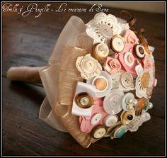 Bouquet di bottoni Trilli e Gingilli