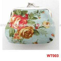 Fashion Lady Women Girl Small Coin Purses Wallet flower cloth Bag New Gift | eBay $1.80 - favour idea for the great grandmas.
