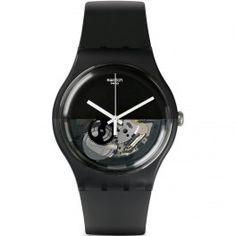 Reloj Swatch Dipblack SUOB116