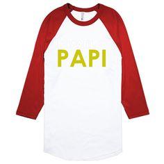 Dimelo Papi` Baseball T-shirt