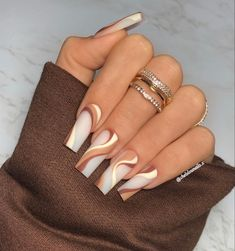 Bling Acrylic Nails, Drip Nails, Aycrlic Nails, Best Acrylic Nails, Swag Nails, Cute Nails, Pretty Nails, Acrylic Nail Set, Simple Acrylic Nails