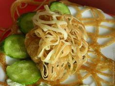 Куриная печень в ажуре / Рецепты с фото