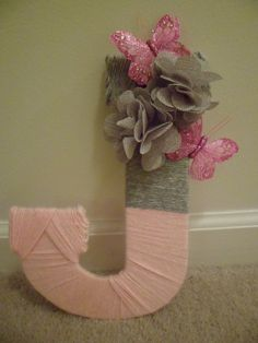 Yarn letters!