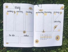 20+ Beautiful Summer Bullet Journal Spread Ideas