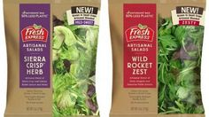 Demand for salad kits, fresh-cut fruits and other convenience foods is helping drive the produce packaging market. Photo: Dion Label
