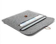 Uhuru Wool Felt Sleeve for Macbook Pro 13 Inch Retina Display Sleeve Case Cover Portable Computer Laptop Bag Macbook Air, New Macbook, Macbook Sleeve, Computer Sleeve, Computer Bags, Tablet Computer, Mac Book, Diy Pochette, Diy Laptop