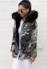 Military Inspired Fashion, Camo Fashion, Womens Fashion, Camouflage Jacket, Camo Jacket, Military Jacket, Parka Coat, Hooded Parka, Mens Winter Parka