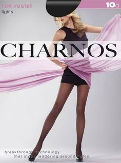 Charnos Run Resist Sheer Tights - Pantyhose