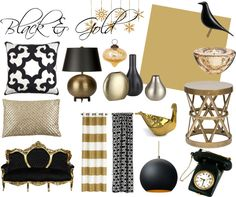 Black & Gold #Holiday #Gold #Black