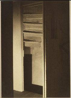 Photo (1917) by Charles Sheeler, at the Met
