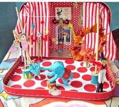 small world land: Traveling Circus in a Suitcase