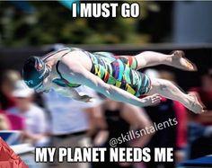 Image result for Swimming meme