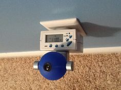 DIY preschool alarm clock- If your child gets out of bed at night it may be because they just don't know when it's morning. Instead of buying an expensive stoplight clock make your own. All you need is a timer and night light. Just set the timer to go on at the time it's OK to get out of bed, let your child know he can leave his room when the light is on. You can set the light to go off several hours later so once you set it you don't need to touch it again. This has worked great for our son...