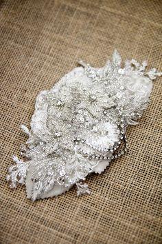 PORTIA Rhinestone Comb Bridal Headpiece by percyhandmade on Etsy