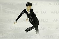 山本草太/Sota Yamamoto (JPN), DECEMBER 11, 2014 - Figure Skating : ISU Junior Grand Prix of Figure Skating Final 2014 Men's Short Program at the Barcelona International Convention Centre in Barcelona, Spain. (Pau Barrena/Aflo)