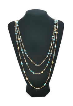 Hues Of Blues Necklace $23.99