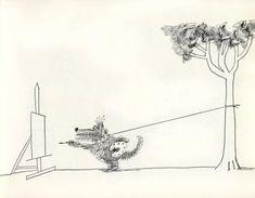 """gk2nist:  """"drawing by Saul Steinberg.  """""""