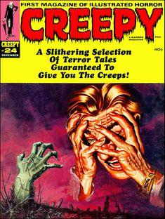 Creepy #24 - Cover by G Monteiro