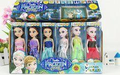 2016王女エルザアンナ赤ちゃん女の子人形シンデレラオラフ子供おもちゃ雪の女王王女アンナエルザ人形ミニエルザ人形